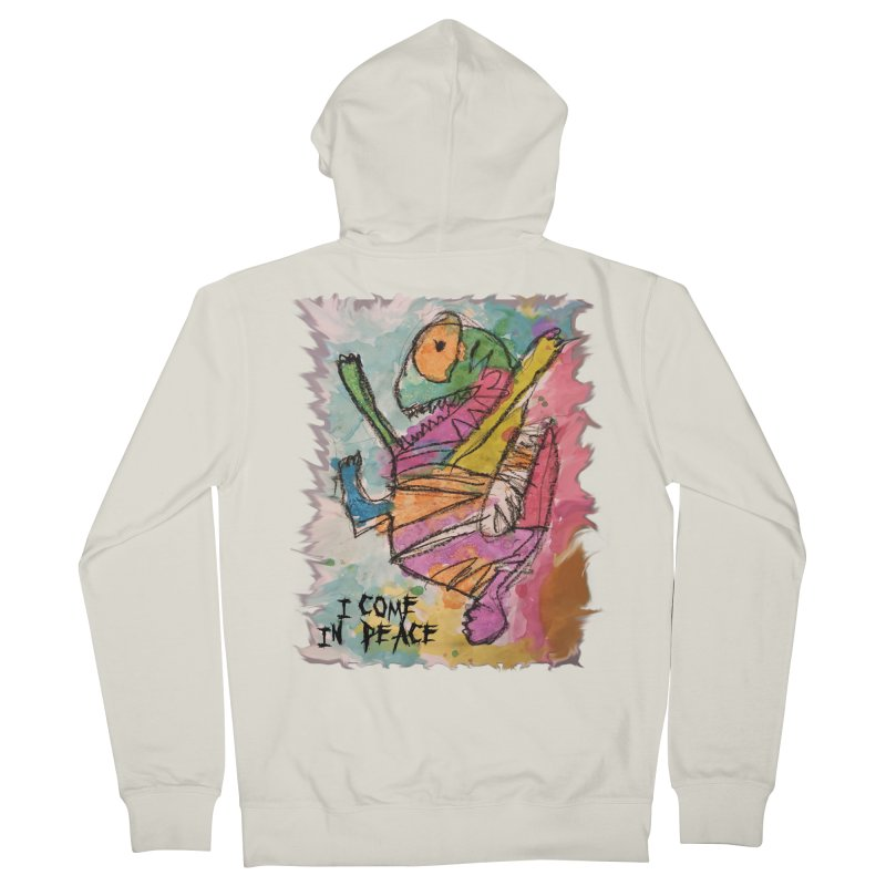 I Come in Peace Monster - Gabe Women's Zip-Up Hoody by Gabe and Taytay Artist Shop