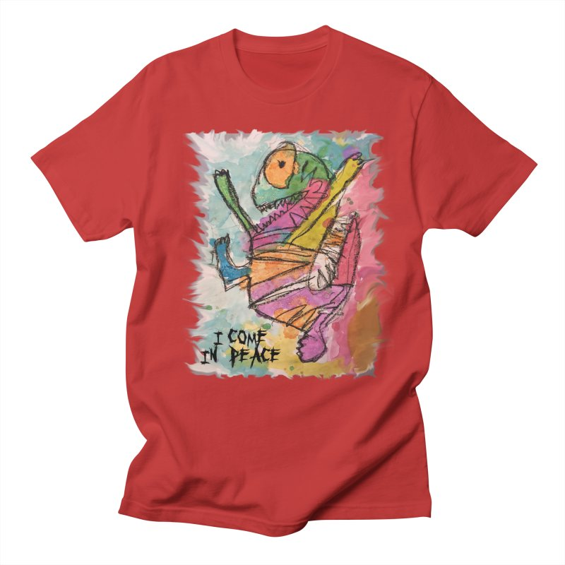 I Come in Peace Monster - Gabe Men's T-Shirt by Gabe and Taytay Artist Shop