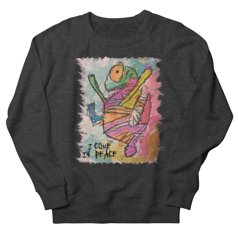 I Come in Peace Monster - Gabe Women's Sweatshirt by Gabe and Taytay Artist Shop