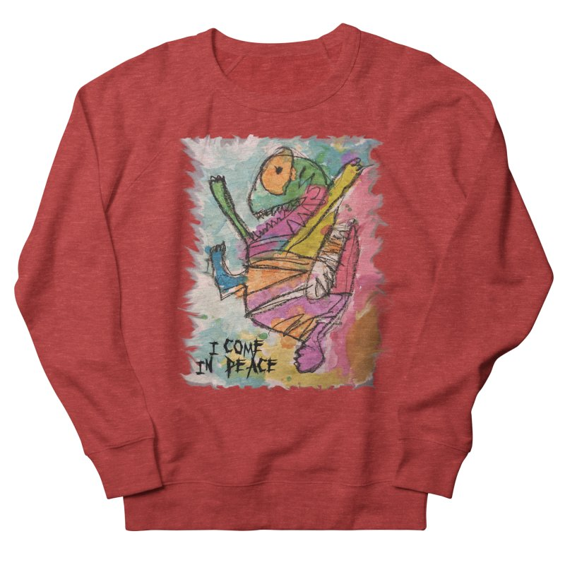 I Come in Peace Monster - Gabe Women's French Terry Sweatshirt by Gabe and Taytay Artist Shop
