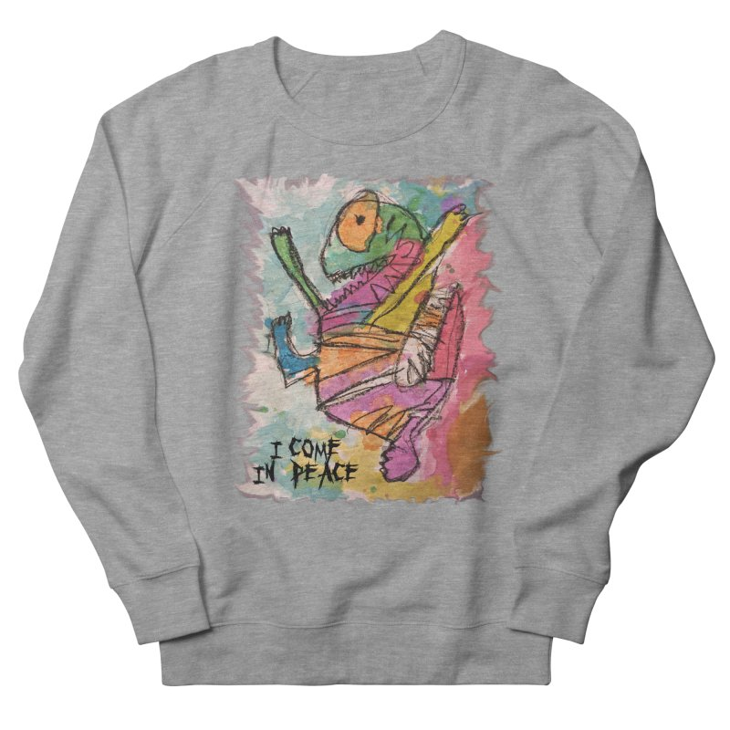 I Come in Peace Monster - Gabe Men's Sweatshirt by Gabe and Taytay Artist Shop