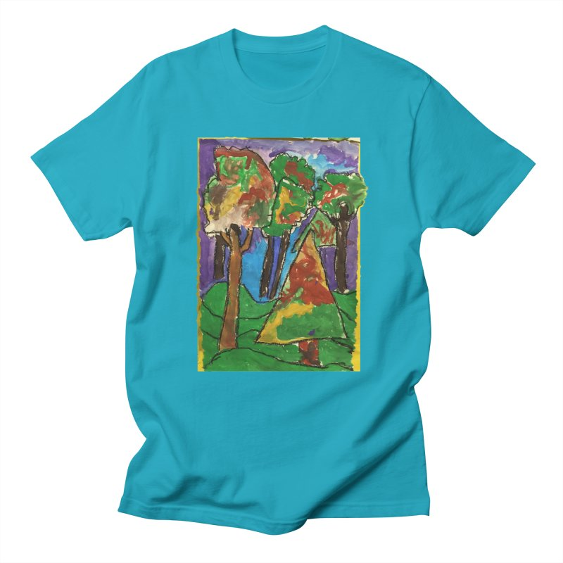The Forrest - by gabe Men's T-Shirt by Gabe and Taytay Artist Shop