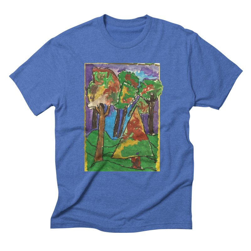 The Forrest - by gabe Men's Triblend T-shirt by Gabe and Taytay Artist Shop