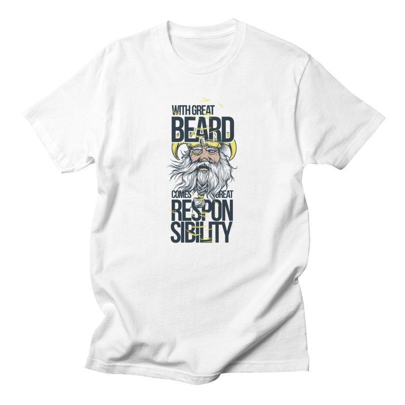 Beard Men's T-Shirt by Gab Fernando's Artist Shop