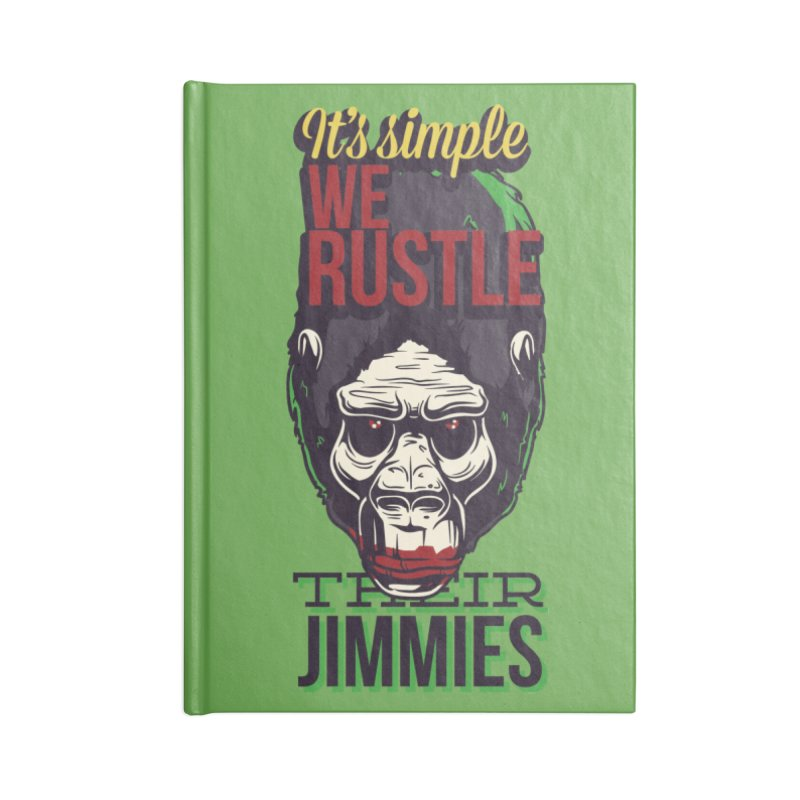 Jimmies Accessories Notebook by Gab Fernando's Artist Shop
