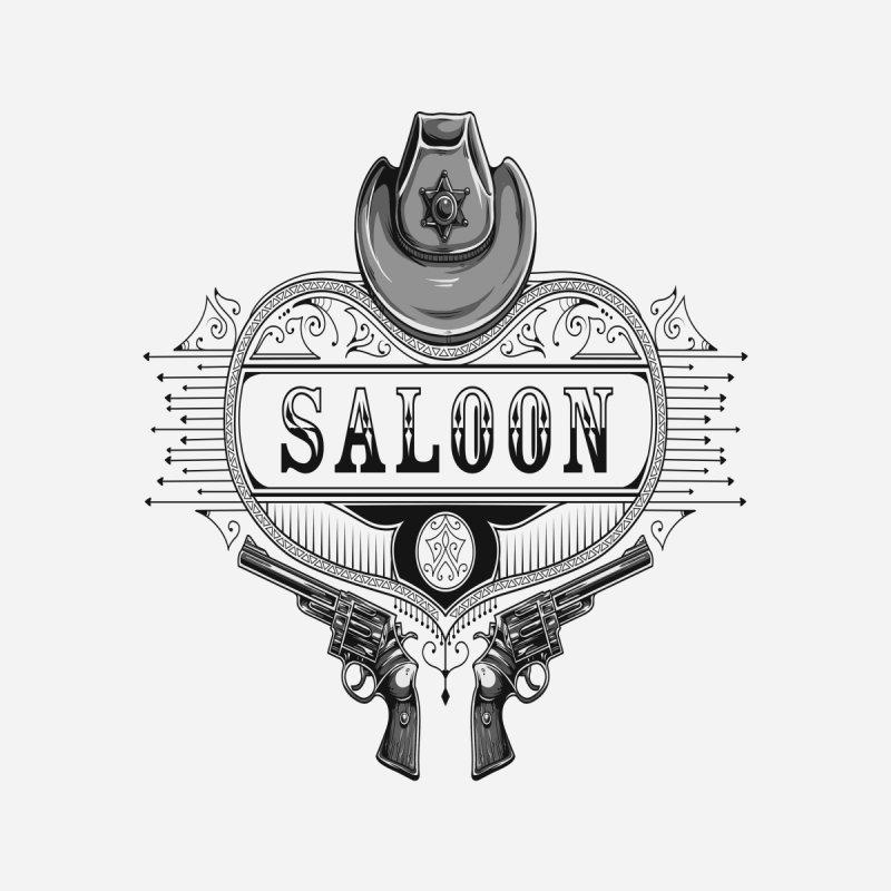 Saloon Home Blanket by Gab Fernando's Artist Shop