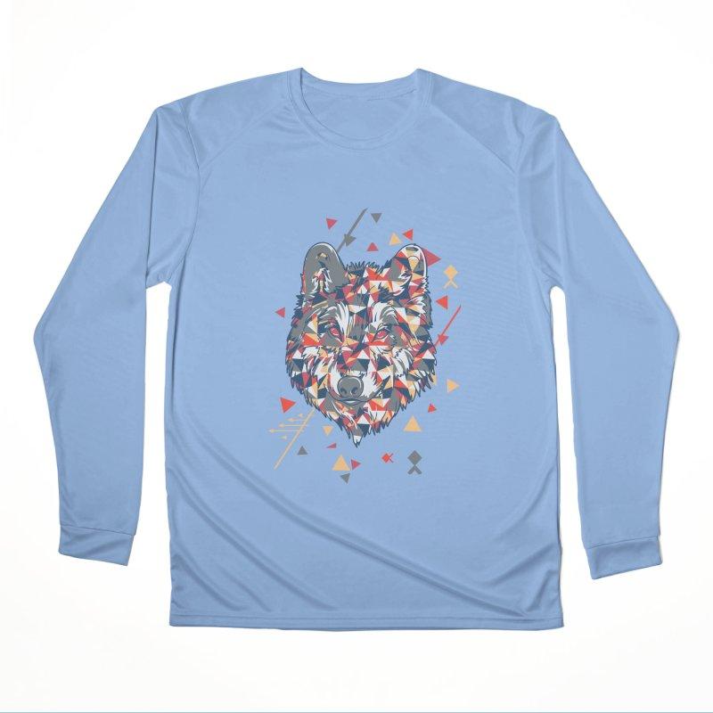 wolf pack Women's Longsleeve T-Shirt by Gab Fernando's Artist Shop