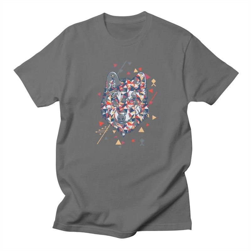 wolf pack Men's T-Shirt by Gab Fernando's Artist Shop