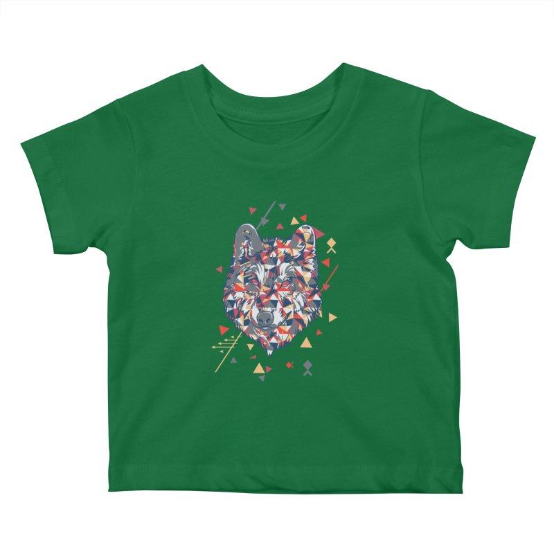 wolf pack Kids Baby T-Shirt by Gab Fernando's Artist Shop