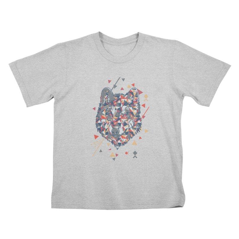 wolf pack Kids T-Shirt by Gab Fernando's Artist Shop