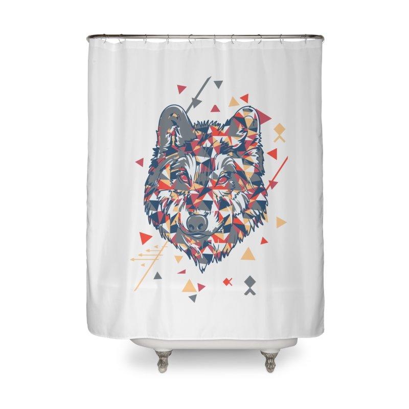 wolf pack Home Shower Curtain by Gab Fernando's Artist Shop
