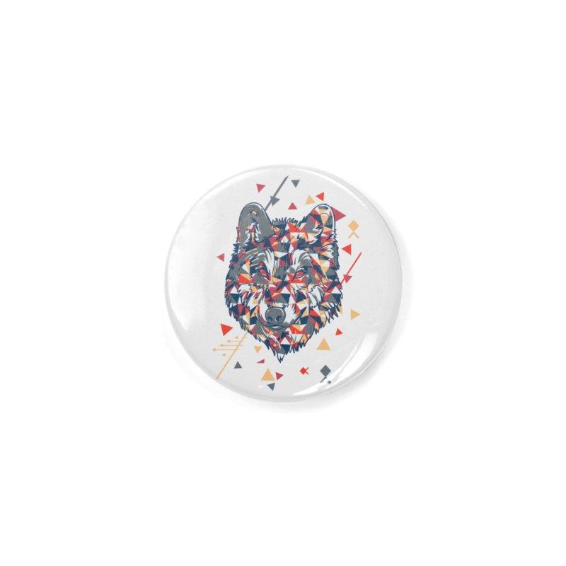 wolf pack Accessories Button by Gab Fernando's Artist Shop
