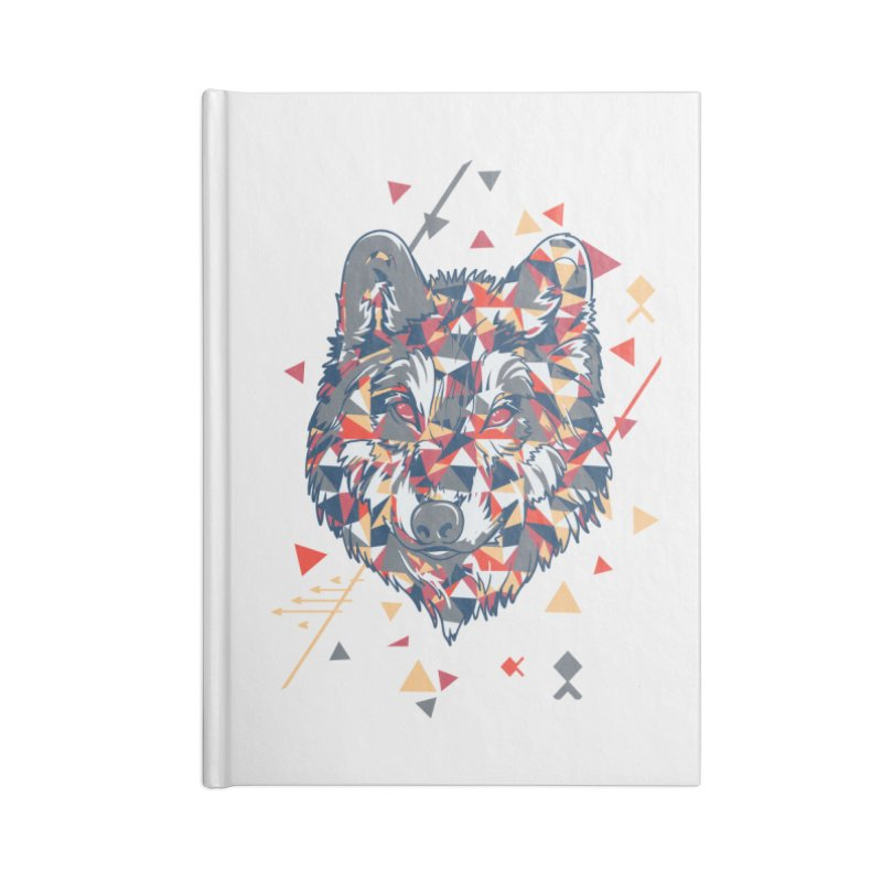 wolf pack Accessories Notebook by Gab Fernando's Artist Shop
