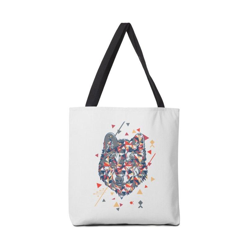 wolf pack Accessories Bag by Gab Fernando's Artist Shop
