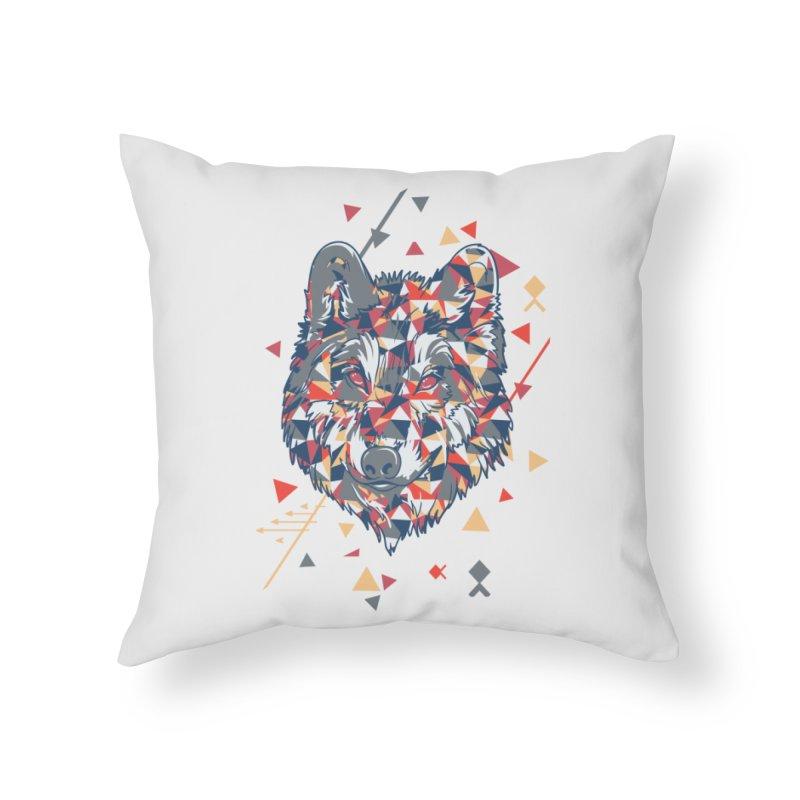 wolf pack Home Throw Pillow by Gab Fernando's Artist Shop