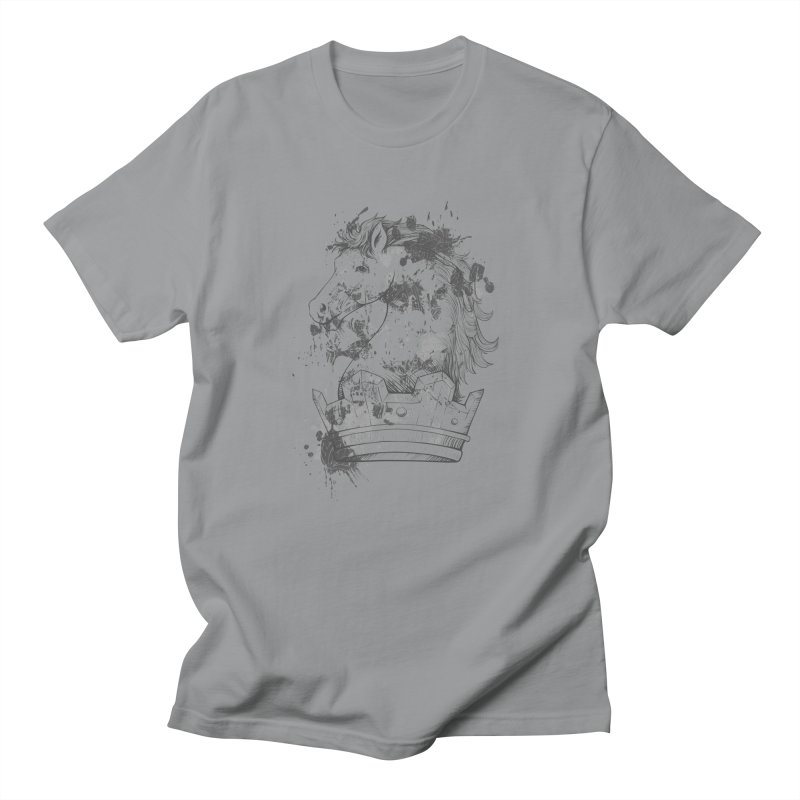 Horse Men's T-Shirt by Gab Fernando's Artist Shop