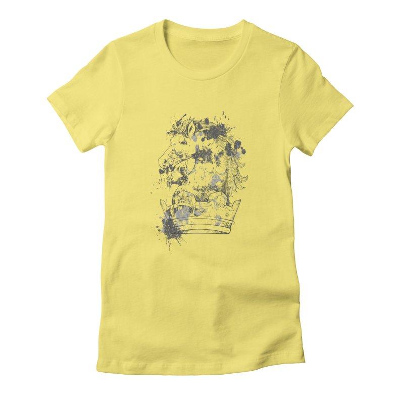 Horse Women's T-Shirt by Gab Fernando's Artist Shop