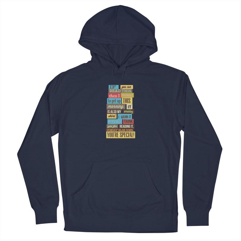 Text Art Men's Pullover Hoody by Gab Fernando's Artist Shop