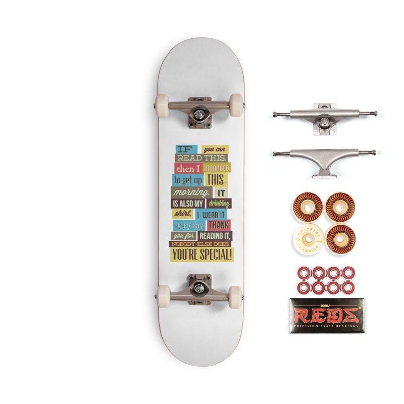 Text Art Accessories Skateboard by Gab Fernando's Artist Shop