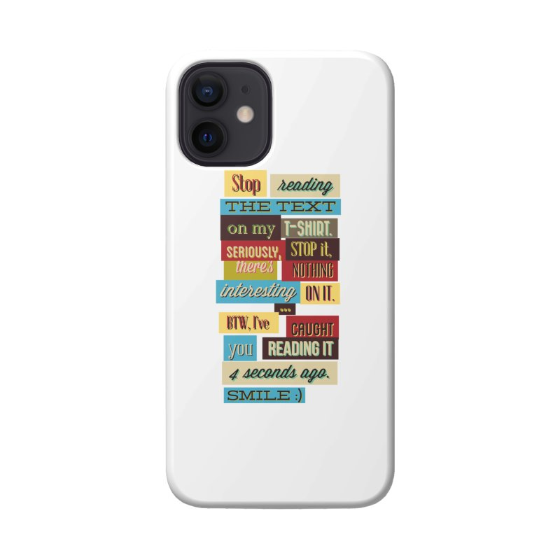Text Art Accessories Phone Case by Gab Fernando's Artist Shop