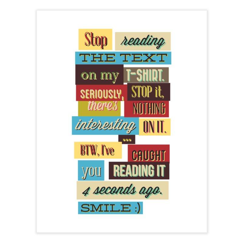 Text Art Home Fine Art Print by Gab Fernando's Artist Shop