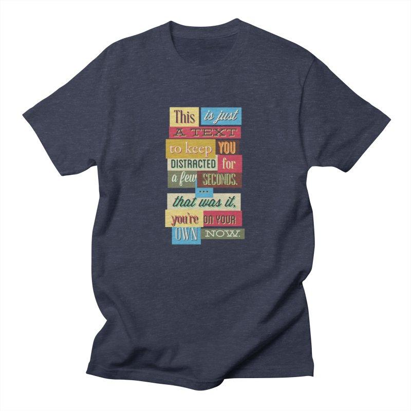 Text Art Women's T-Shirt by Gab Fernando's Artist Shop