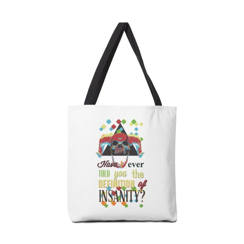 Insanity Accessories Bag by Gab Fernando's Artist Shop