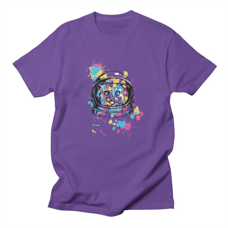 Space Cat Men's T-Shirt by Gab Fernando's Artist Shop