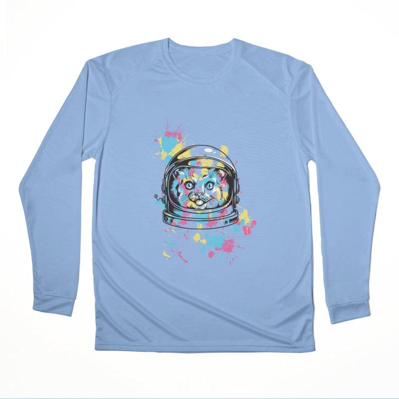 Space Cat Women's Longsleeve T-Shirt by Gab Fernando's Artist Shop