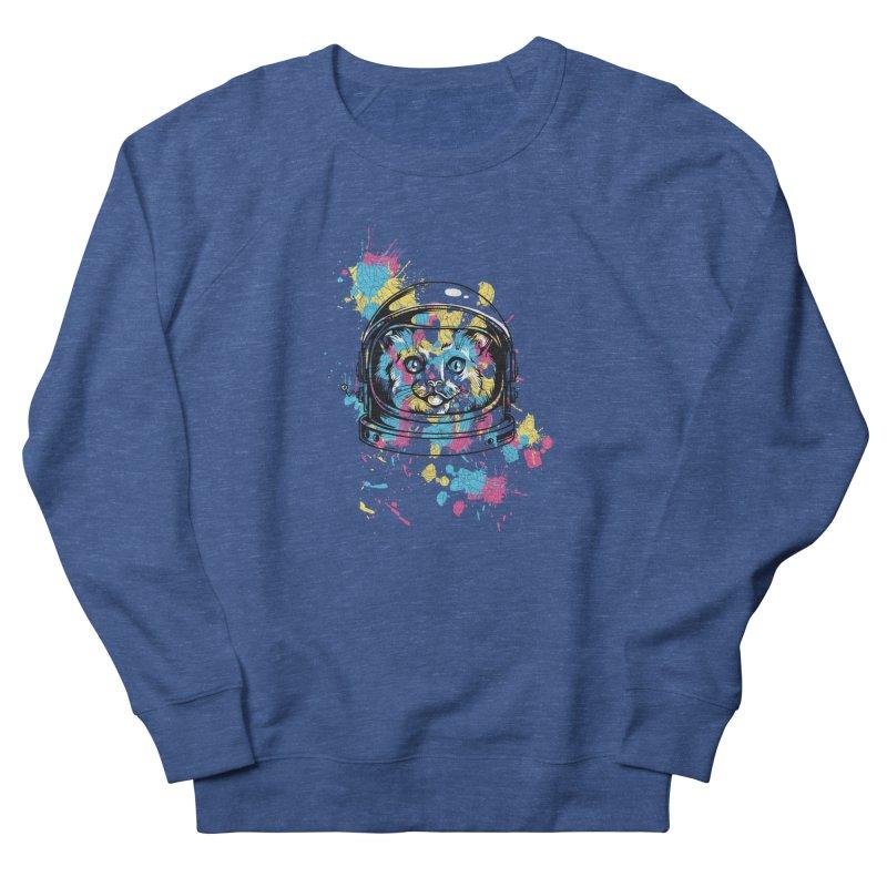 Space Cat Men's Sweatshirt by Gab Fernando's Artist Shop