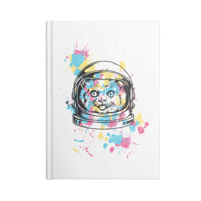 Space Cat Accessories Notebook by Gab Fernando's Artist Shop