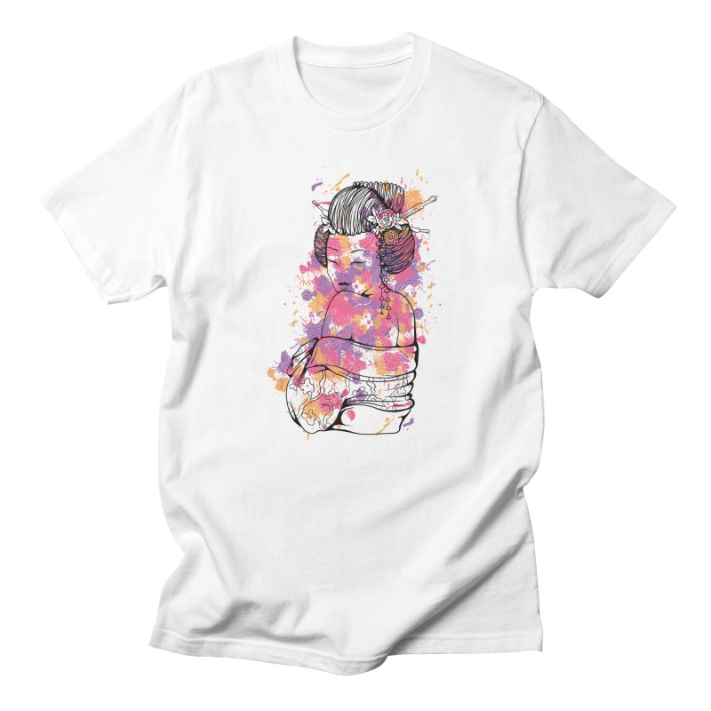 Geisha Men's T-Shirt by Gab Fernando's Artist Shop