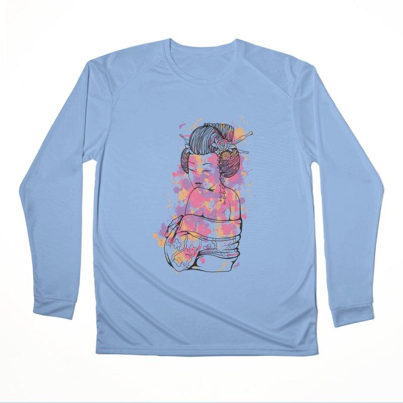 Geisha Women's Longsleeve T-Shirt by Gab Fernando's Artist Shop