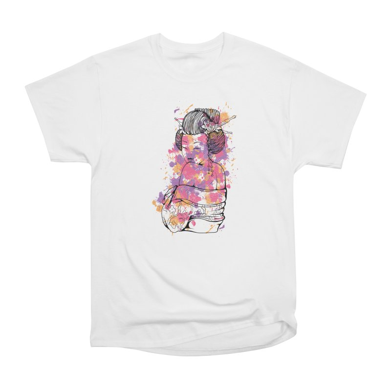 Geisha Women's T-Shirt by Gab Fernando's Artist Shop