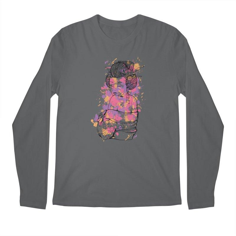 Geisha Men's Longsleeve T-Shirt by Gab Fernando's Artist Shop