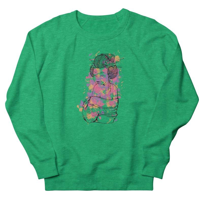Geisha Women's Sweatshirt by Gab Fernando's Artist Shop