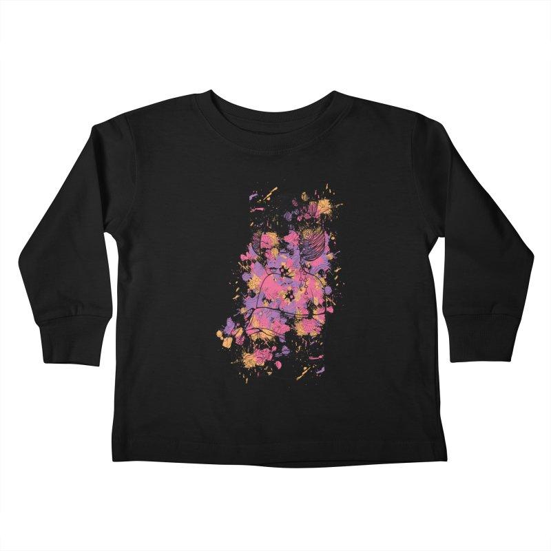 Geisha Kids Toddler Longsleeve T-Shirt by Gab Fernando's Artist Shop
