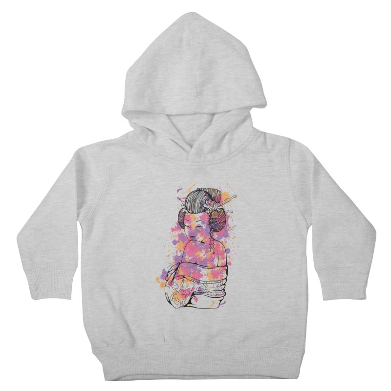 Geisha Kids Toddler Pullover Hoody by Gab Fernando's Artist Shop