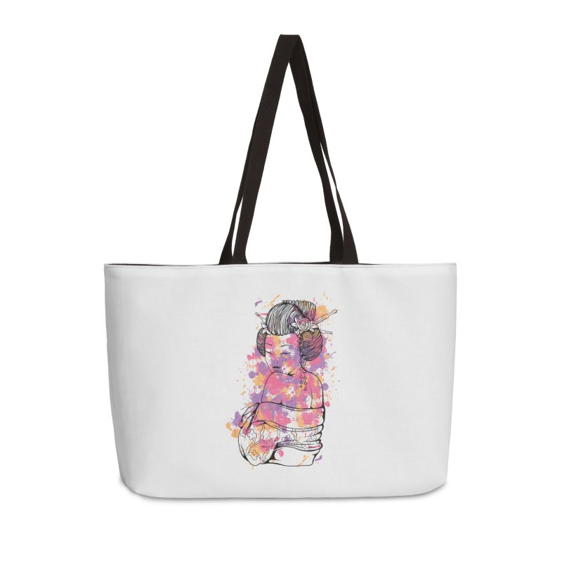 Geisha Accessories Bag by Gab Fernando's Artist Shop