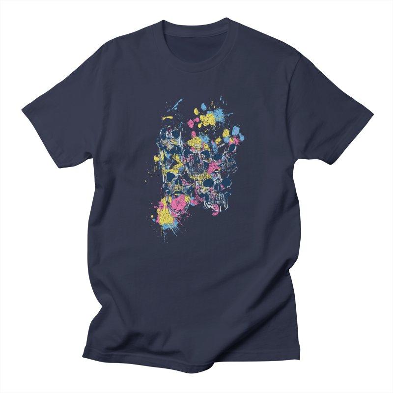 Party Skull Men's T-Shirt by Gab Fernando's Artist Shop