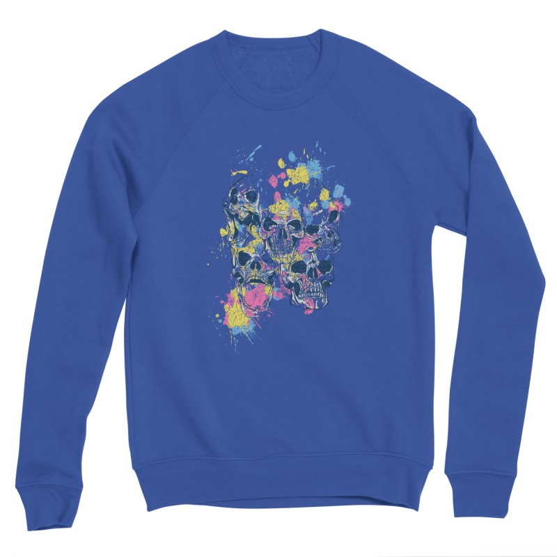 Party Skull Men's Sweatshirt by Gab Fernando's Artist Shop