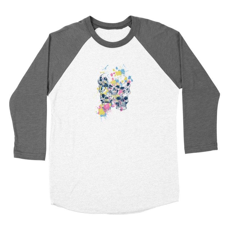 Party Skull Women's Longsleeve T-Shirt by Gab Fernando's Artist Shop