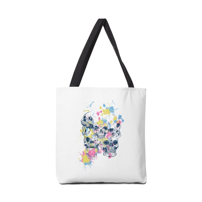 Party Skull Accessories Bag by Gab Fernando's Artist Shop