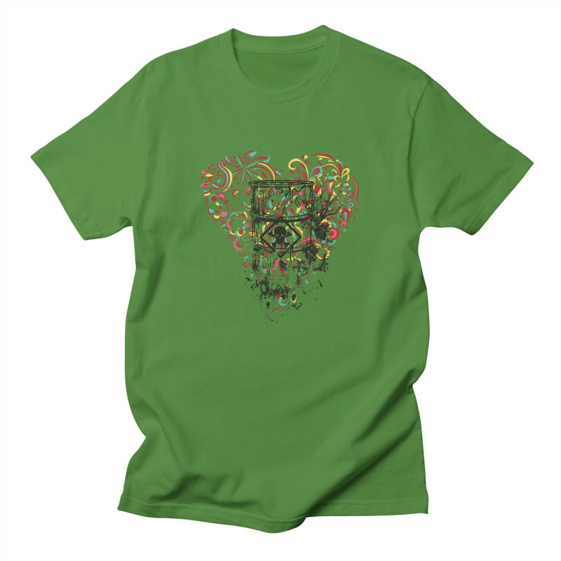 Drum of Love Men's T-Shirt by Gab Fernando's Artist Shop