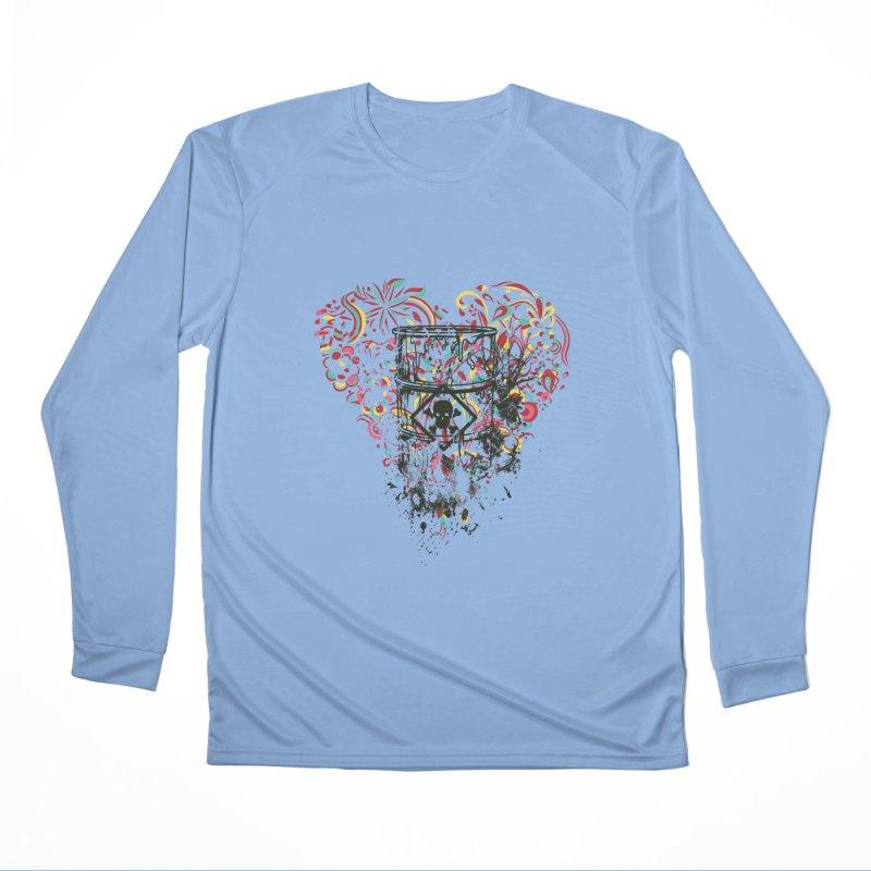 Drum of Love Men's Longsleeve T-Shirt by Gab Fernando's Artist Shop