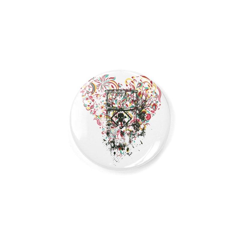 Drum of Love Accessories Button by Gab Fernando's Artist Shop