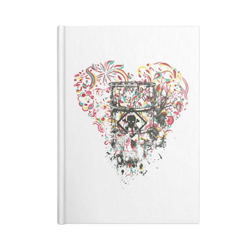 Drum of Love Accessories Notebook by Gab Fernando's Artist Shop
