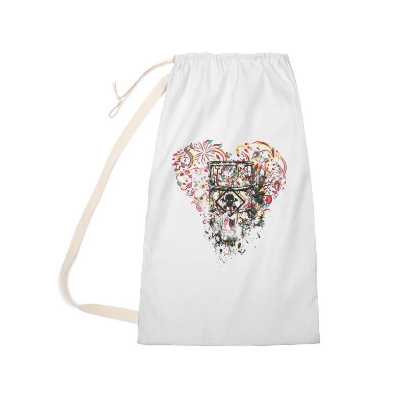 Drum of Love Accessories Bag by Gab Fernando's Artist Shop