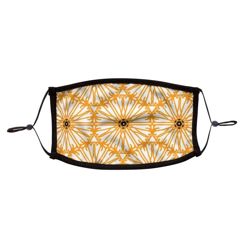 Sunflower Accessories Face Mask by Gab Fernando's Artist Shop