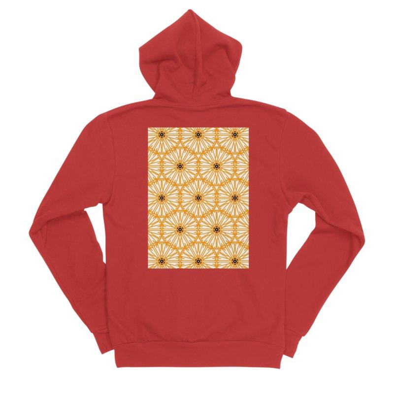 Sunflower Men's Zip-Up Hoody by Gab Fernando's Artist Shop